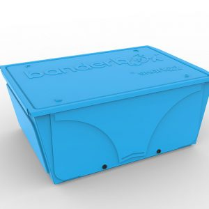 Image of Banderbox in the color Blue and Medium size. This LEGO® sorting box helps you organize bricks and safely store projects.